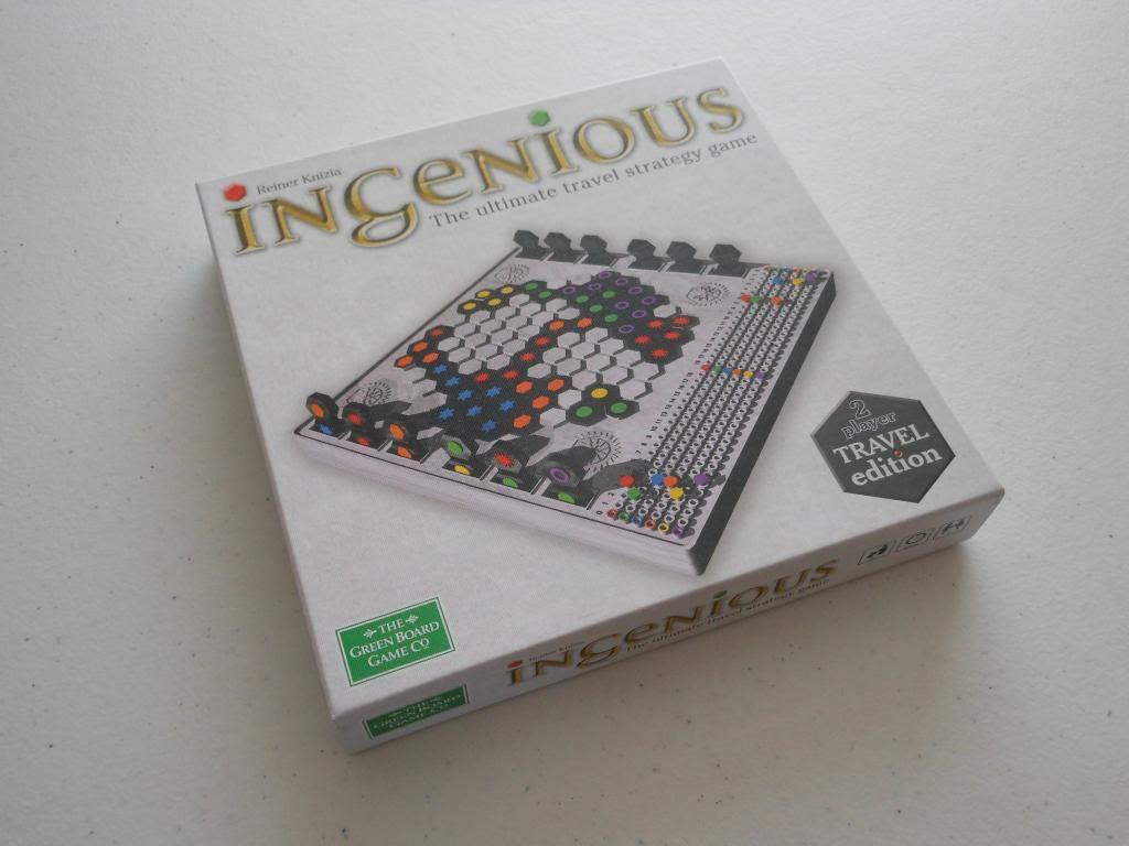 Ingenious: Travel Edition box