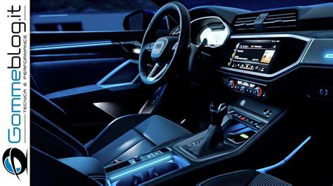 audi   interior  sound system ambient light