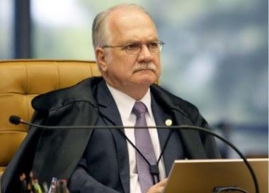 Crédito Rosinei Coutinho/STF. Edson fachin ministro do STF.