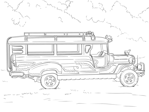 Jeep Coloring Pages To Download And Print For Free Sketch ...