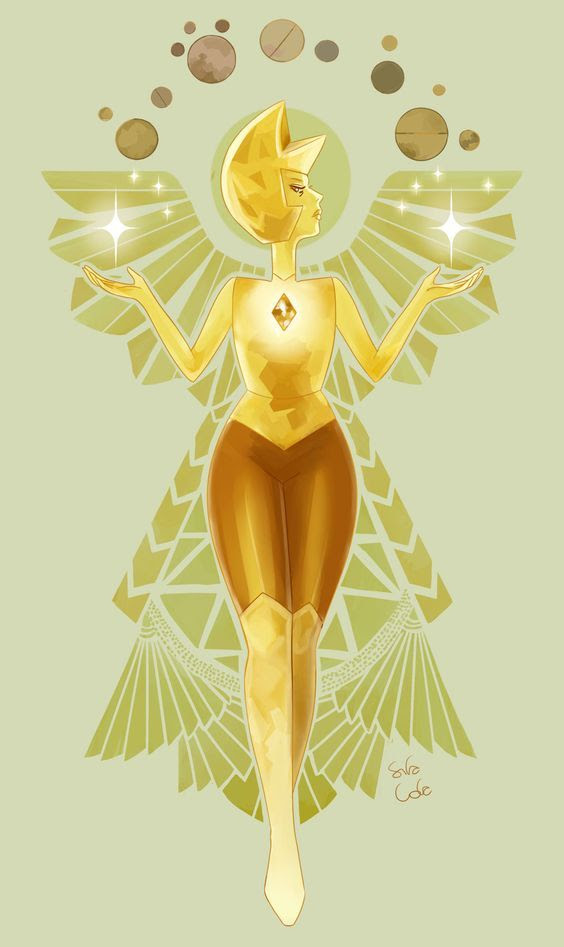 and this is yellow diamond holy crap such grace very beauty amaze