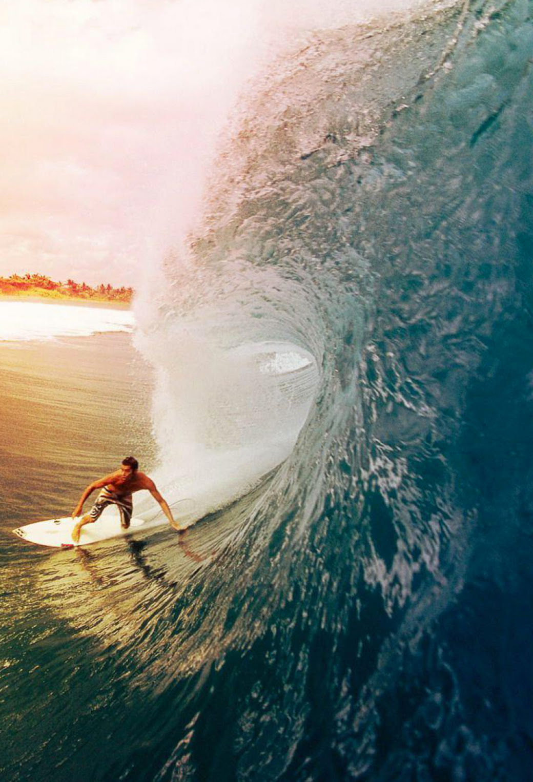 Surfer - iPhone Parallax Wallpaper for iPhone X, 8, 7, 6 ...
