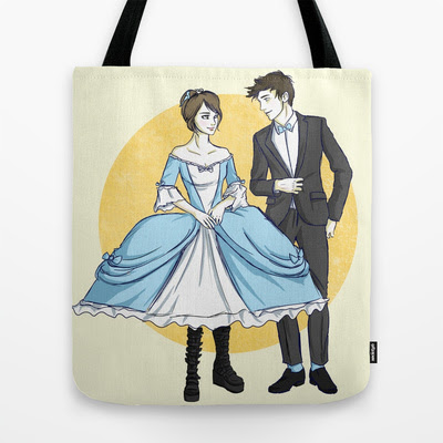 Lola and Cricket go to the dance in style Tote Bag