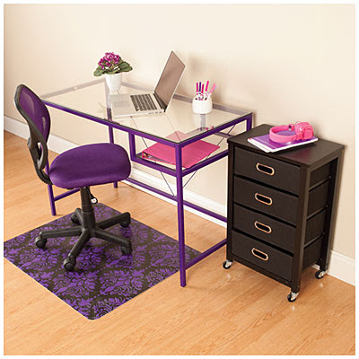 View Purple Office Furniture Set Deals at Big Lots