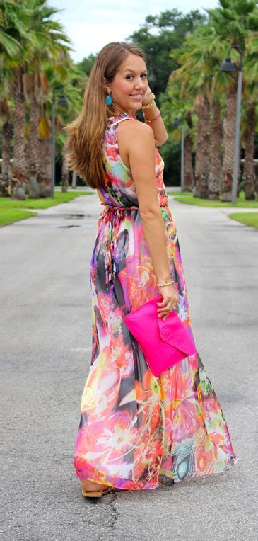 Floral maxi dress for a beach wedding   Women's Style