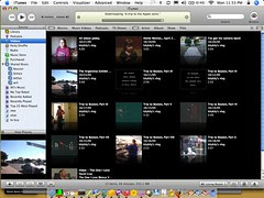 iTunes 6, vlog, shared libraries
