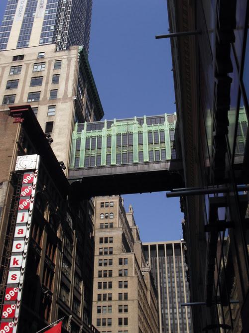 different angle, 33rd Street skybridge, Manhattan