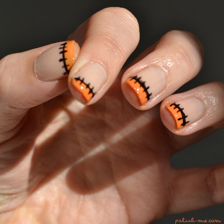 Manucure Halloween