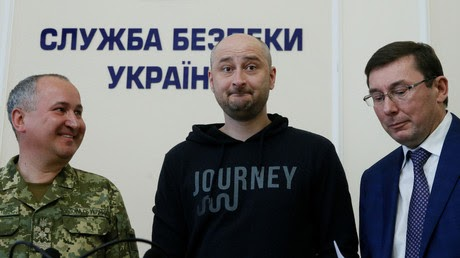 'Assassinated' journalist Babchenko alive, Kiev accuses Russian intelligence of murder plot