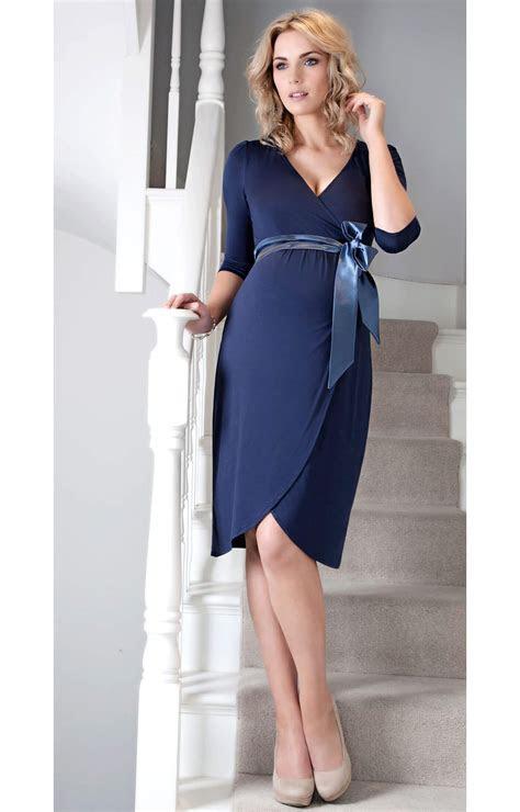 Tulip Maternity Dress (Bijou Blue)   Maternity Wedding
