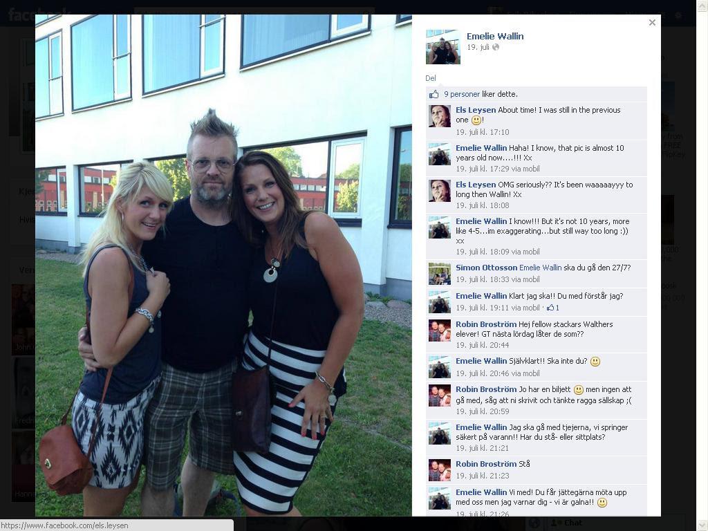 emelie wallin nytt facebook bilde