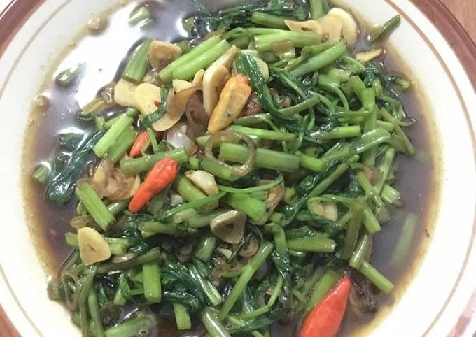 Resep Membuat Cah Kangkung/Oseng-oseng Kangkung Yang Enak