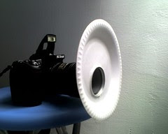 DIY macro diffuser - styrofoam plate diffuser, polystyrene foam My Mighty Macro Rig