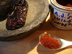 A.J.'s chile (sic) powder
