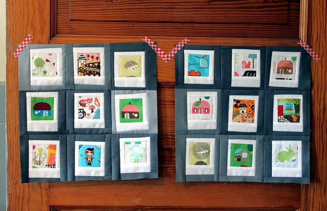 Polaroid Bee Blocks