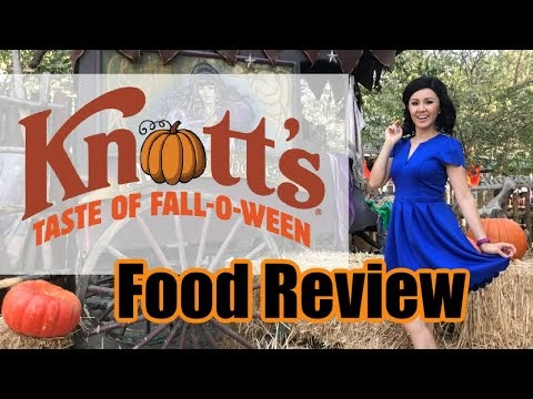 Best & Worst Eats at Knott's Taste of FALL-O-WEEN!