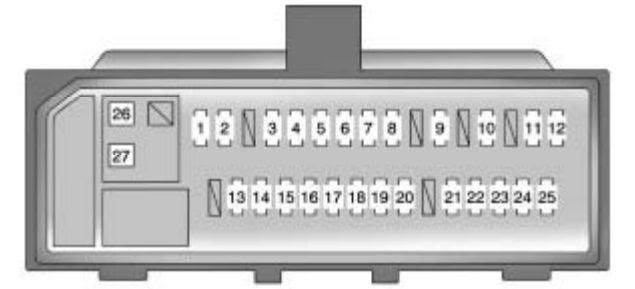 Pontiac Vibe 2010 Fuse Box Diagram Auto Genius