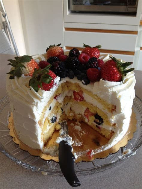 Berry Chantilly Cake from Whole Foods   Food   Pinterest