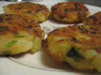 Soya Chunks Potato Patties by Sharmi