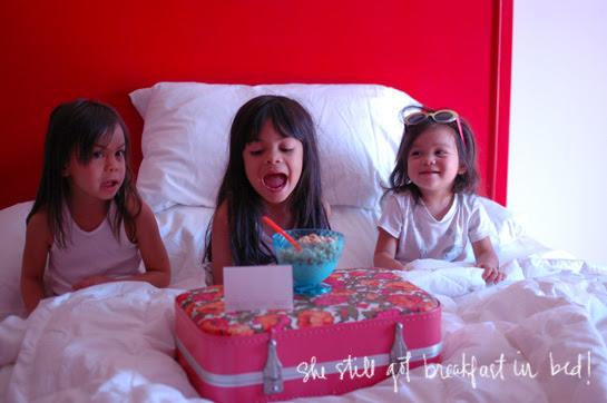 her hotel birthday adventure