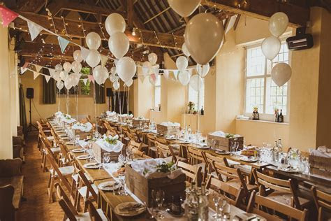 Village Hall Wedding With A Picnic Style Meal Bride Wears