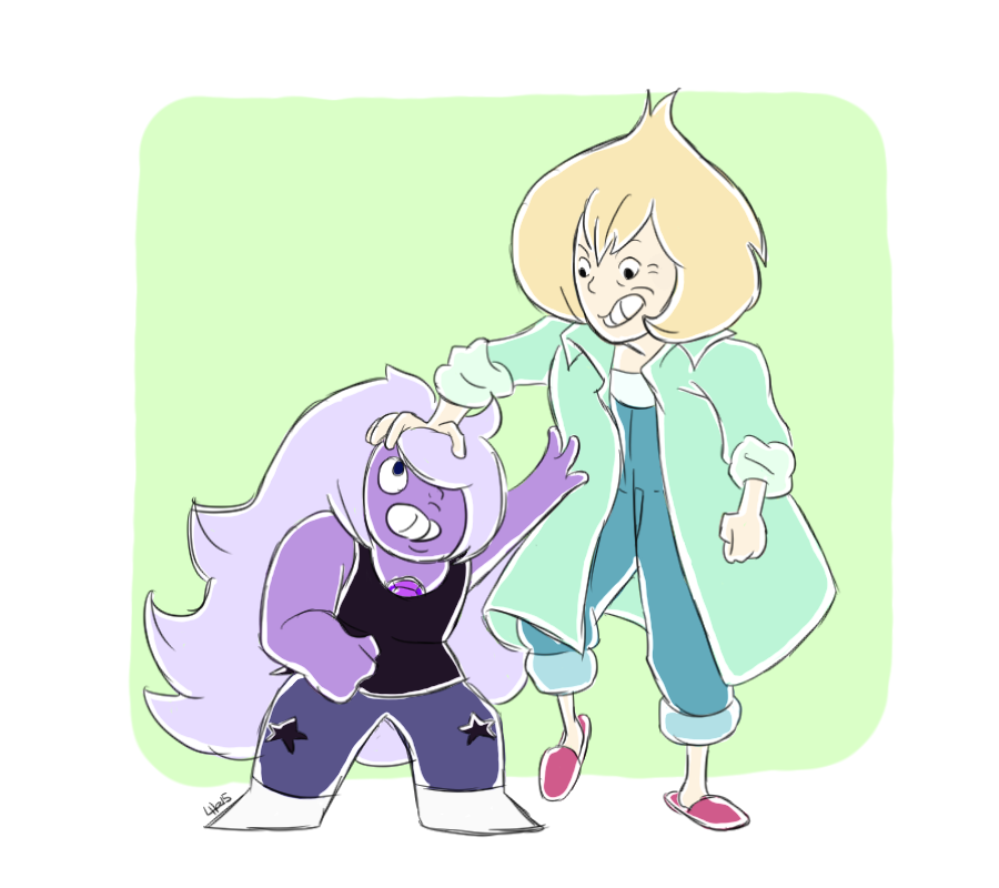 I'm happy Amethyst had someone to talk to. Commission me?