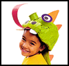 Dragon Hat Costume for Kids to Dress Up like Dragons