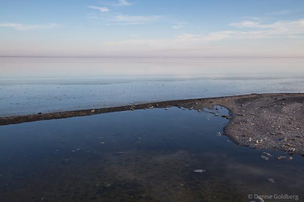 on the Salton Sea, near Bombay Beach