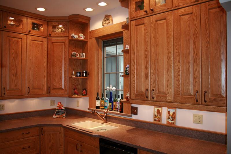Red Oak Cabinet Inspirations | Reeds Custom Cabinets