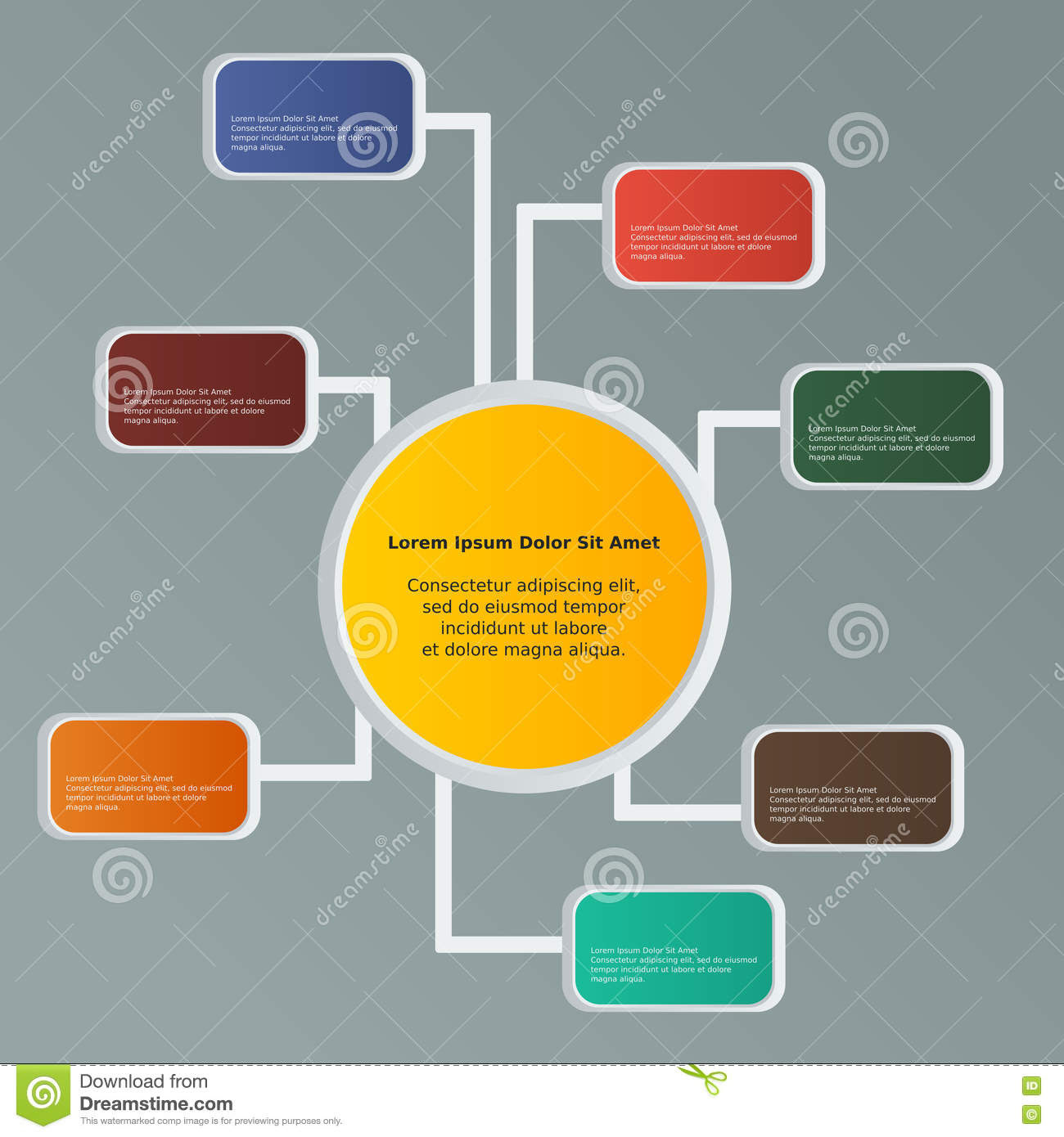 Infographic Banner Template Stock Vector - Image: 71829941
