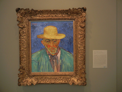 DSCN7761 _ Portrait of a Peasant (Patience Escalier), August 1888, Vincent van Gogh (1853-1890), Norton Simon Museum, July 2013