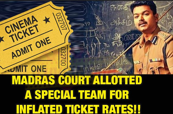 Theri overpricing of ticket sales in theatres