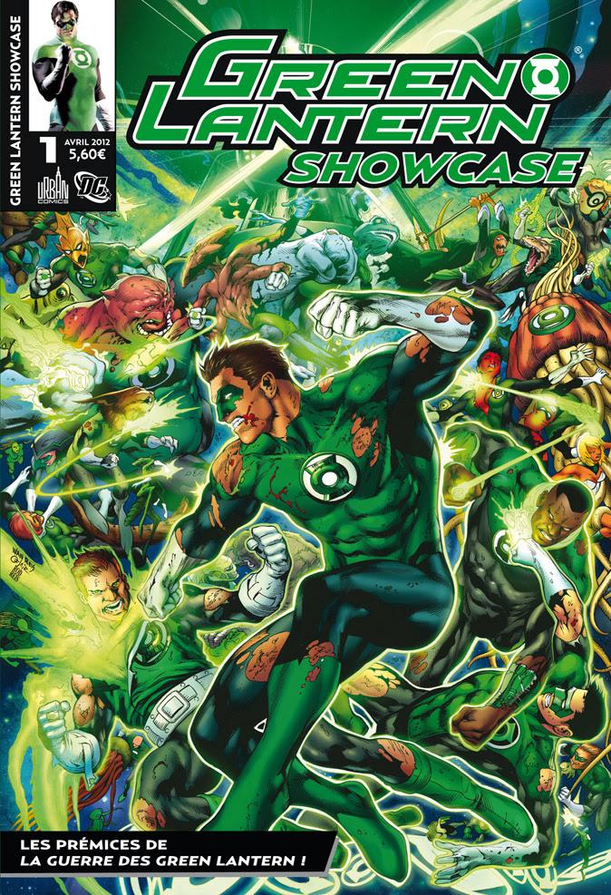 Concours Urban Comics: Green Lantern Showcase n°1