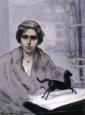 Romaine Brooks, Miss Natalie Barney, L'Amazone, 1920