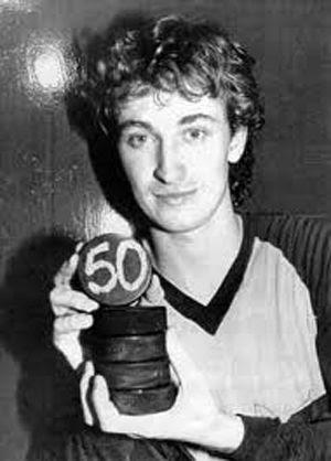 Gretzky 50 goals, Gretzky 50 goals