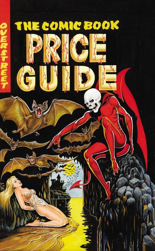 L. B. Cole - Overstreet Comic Book Price Guide #11, 1981