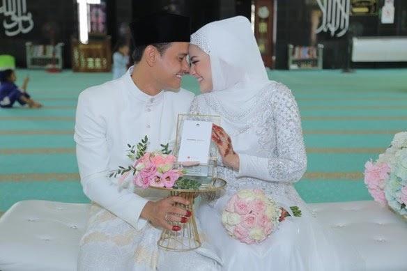 #Hiburan: (26 GAMBAR)Sekitar Majlis Pernikahan Fasha Sandha & Aidil Aziz