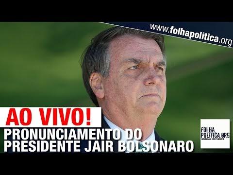 AO VIVO: PRESIDENTE JAIR BOLSONARO EM SÃO PAULO