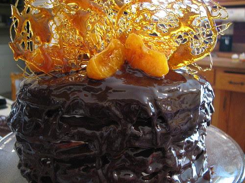 Chocolate Crepe Cake