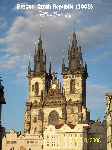 Týn Church in Old Town Square