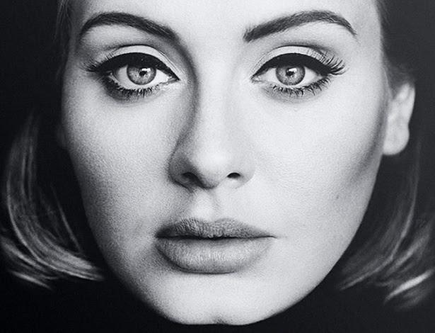 """Foto usada na capa do novo álbum de Adele, """"25"""", que será lançado nesta sexta (20)"""