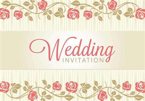 Fresh Wedding Invitation Background Designs Free Download