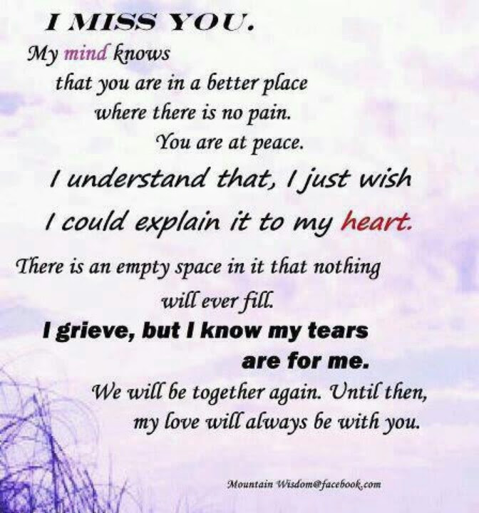 Quotes About Missing Mom 27 Quotes