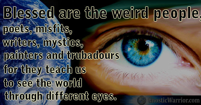 Quote Blessed Are The Weird People Poets Misfits Writers