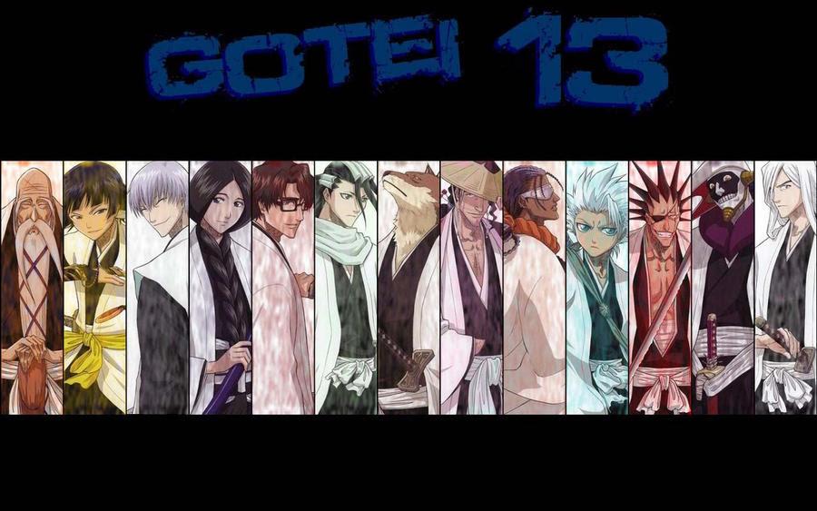 Bleach Gotei 13 by jojo1128xxx