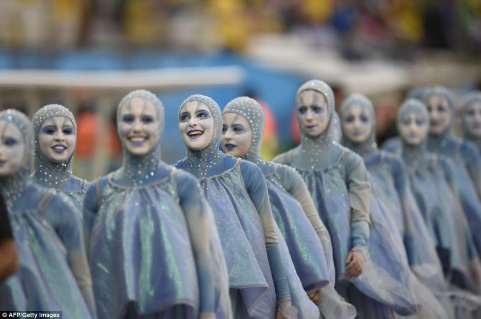 Preparations for the opening ceremony, which falls on Brazil¿s Valentine¿s Day, started in March. There were 84 hours of rehearsals, with some 20 hours of artistic work going into each minute of the ceremony