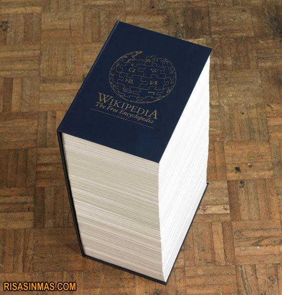 Wikipedia el Libro del Mal