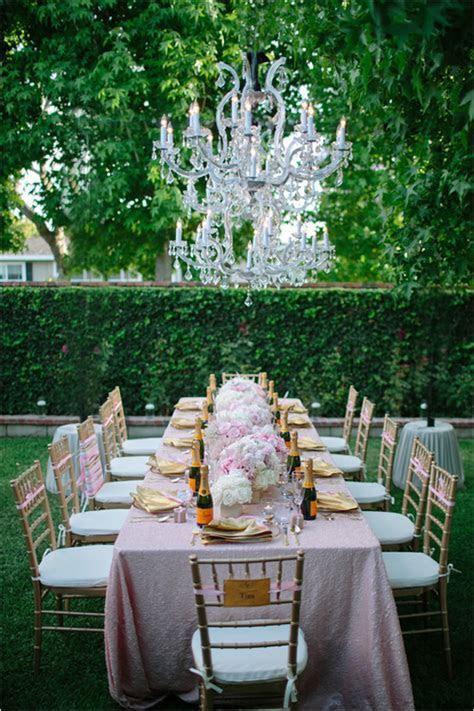 GLAMOROUS BACKYARD SURPRISE BRIDAL SHOWER   It Girl Weddings
