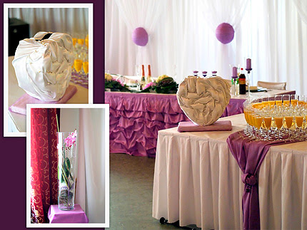 Wedding table decorations seem to be simple at first sight just some