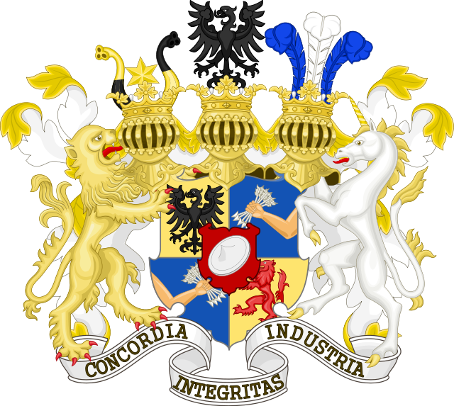 Coat of arms of the Rothschild family